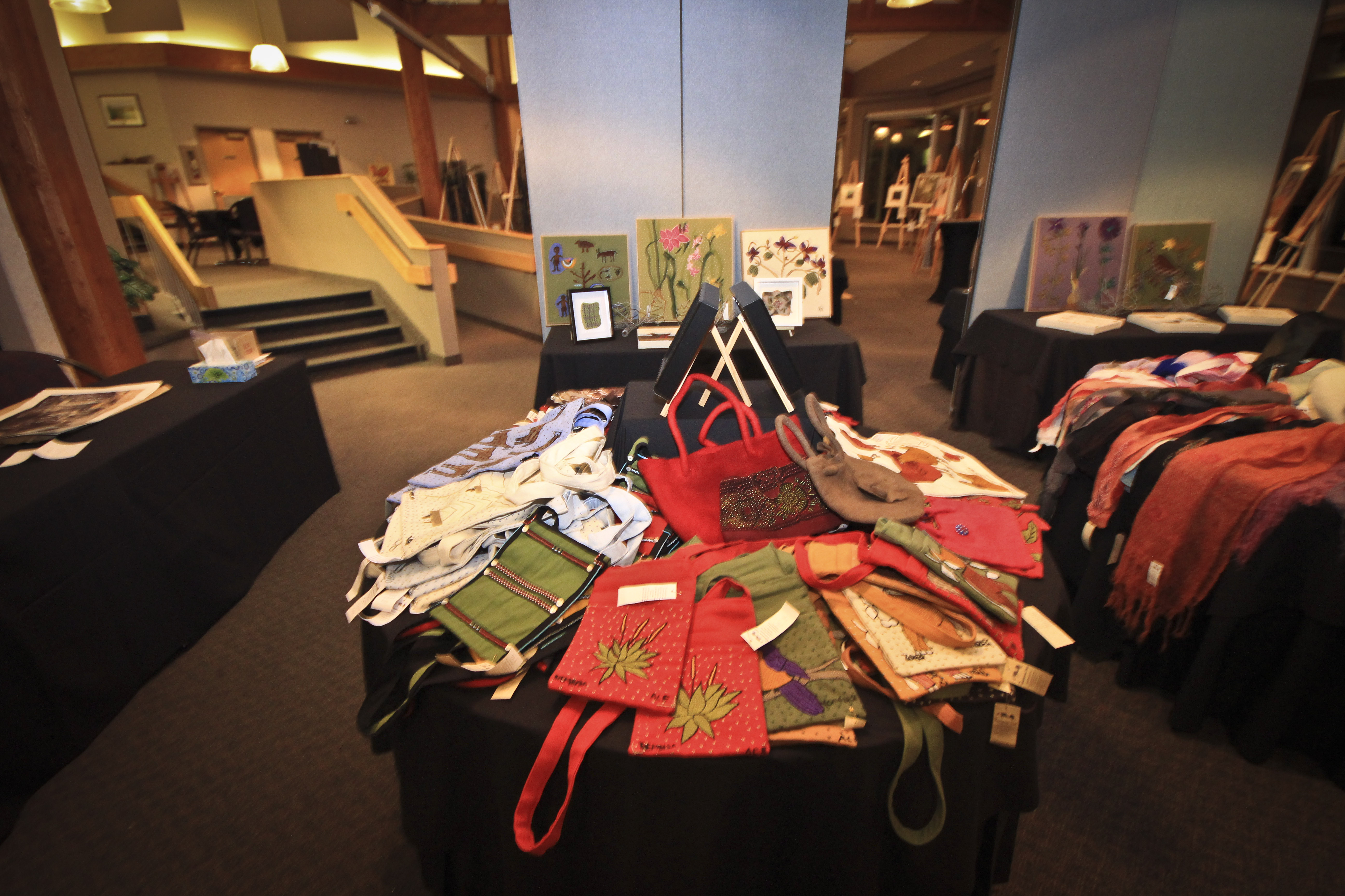 Art for Art 2012 - Beautiful setting at Highlands Golf Course