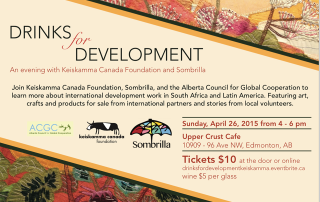 drinks for development 2015