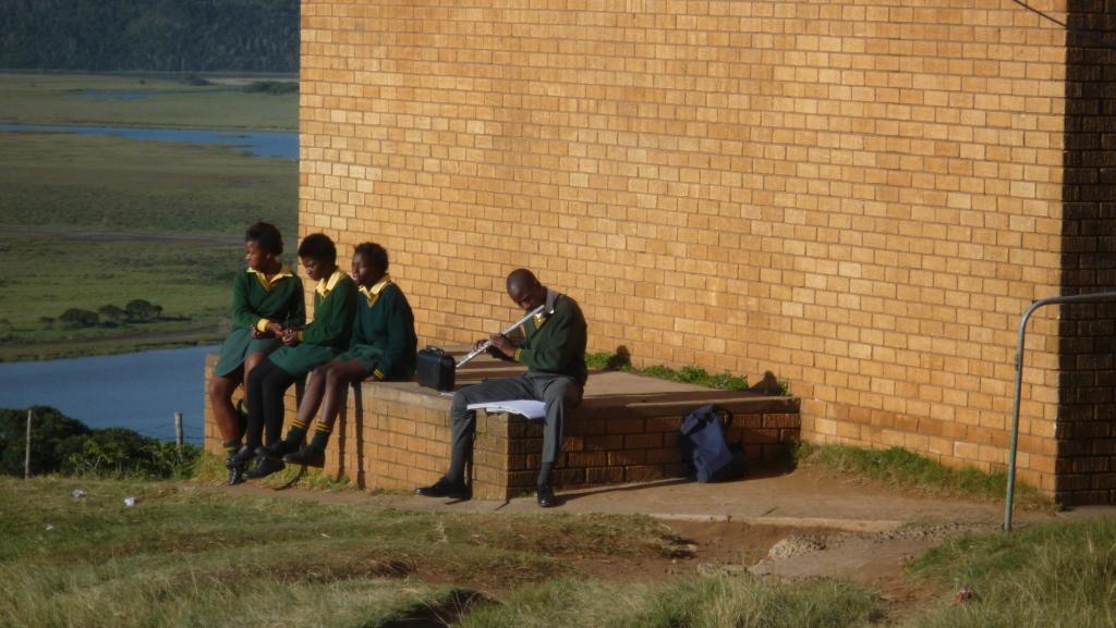 flautist at the high school